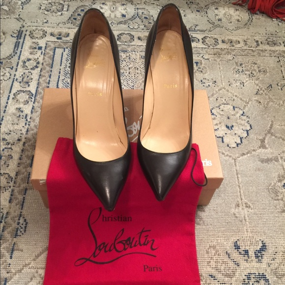 b475c5dc6361 Christian Louboutin Shoes - Christian Louboutin Pigalle 85mm Black Pumps